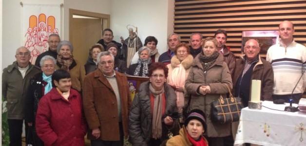 El pueblo de Villafeliche visita nuestra parroquia.