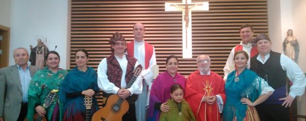 Álbum fotográfico: fiesta parroquial en honor a San Ignacio-Clemente Delgado.