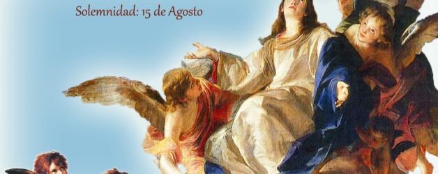 Horario de misas del 15 de agosto, la Asunción de la Virgen.