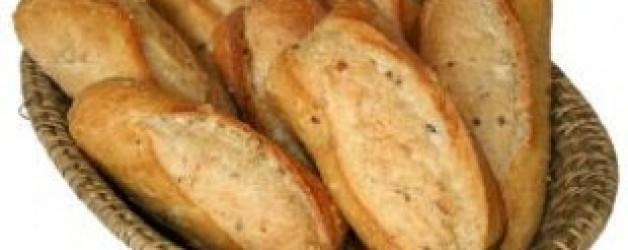 Cinco panes de cebada y un par de peces.