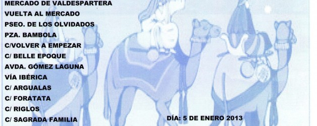 Cabalgata de Reyes.